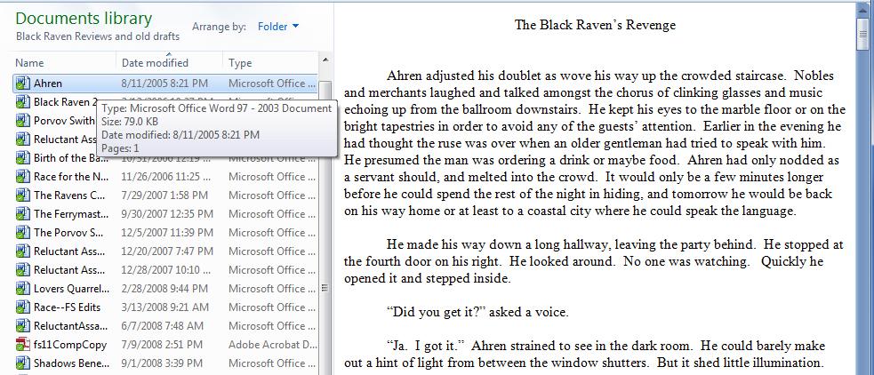 Raven 2005